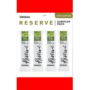 SAMPLER PACK SAXO TENOR – Reserve: 3.0, 3.0+, 3.0+, 3.5