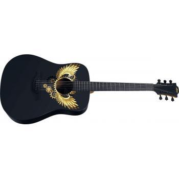 Guitarra Acústica LAG Dreadnought WINGS GRAPHIC