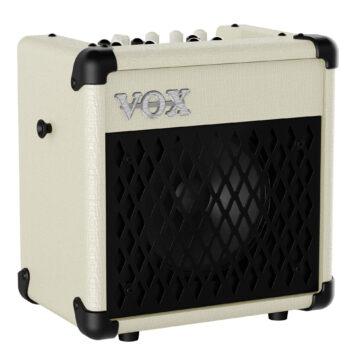Amplificador de Guitarra VOX MOD. MINI5 RHYTHM IVORY