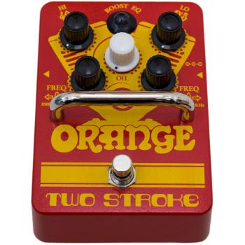 PEDAL BOOST EQ TWO STROKE ORANGE
